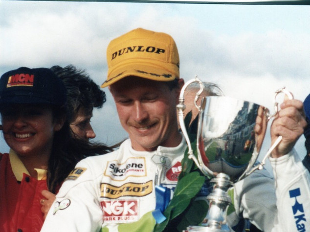 1992 John Renolds with the Squib Burton Cup