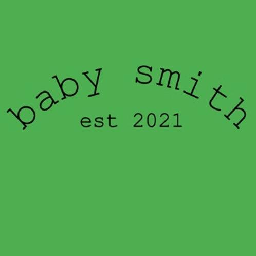 Personalised baby grow design 4