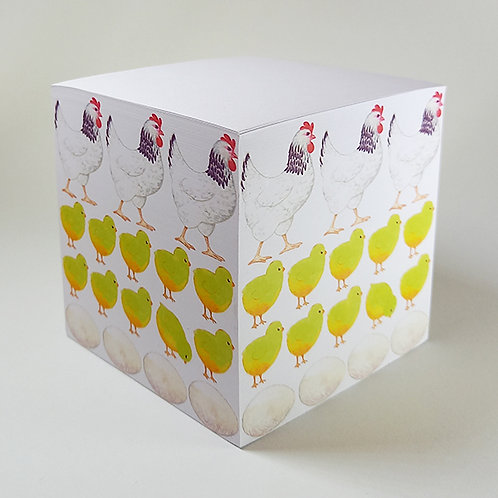 Chicken Memo Block