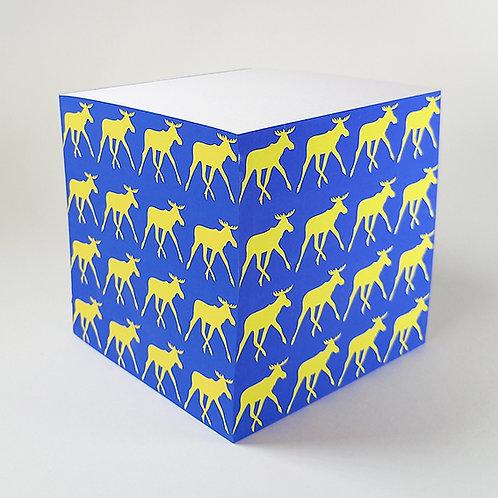 Yellow Elk Memo Block