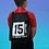 Thumbnail: Personalised Football Drawstring Bag