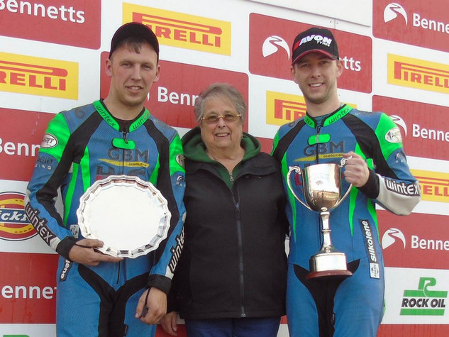 2019 Tom Wheatcroft Trophy Todd Ellis and Charlie Richardson