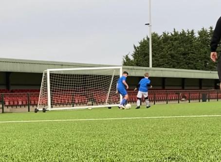 Friday Football Development Centre Defending Block