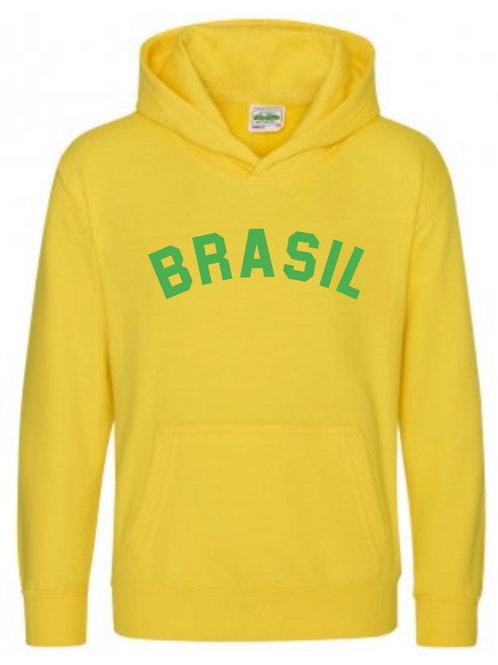 Brasil Hooded Top - Personalised