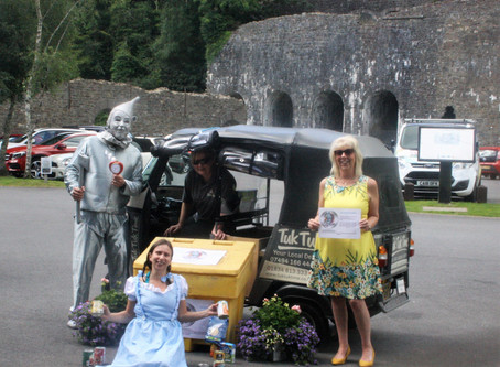 Visitors Support Tinman Tuesday Tourist Project