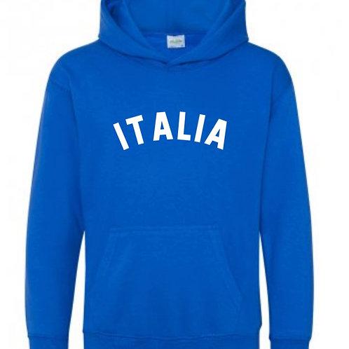 Italia Hooded Top - Personalised