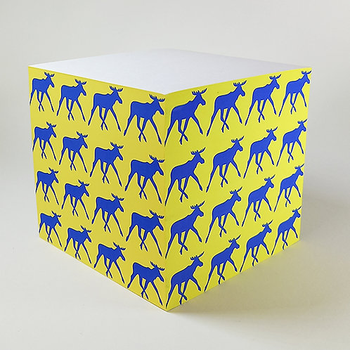 Blue Elk Memo Block