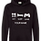Thumbnail: Personalised Eat,Sleep Gamer Hoodie