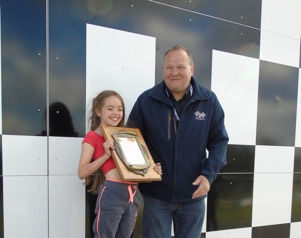 2017 Ken Walker winner Mike Hose collected by his daughter