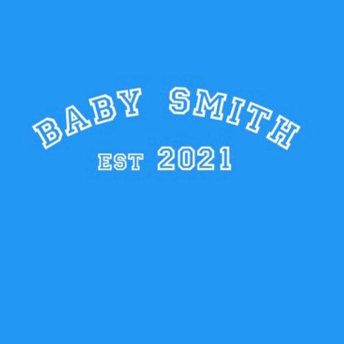 Personalised baby grow design 1
