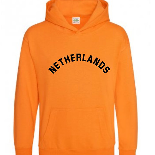 Netherlands Hooded Top - Personalised