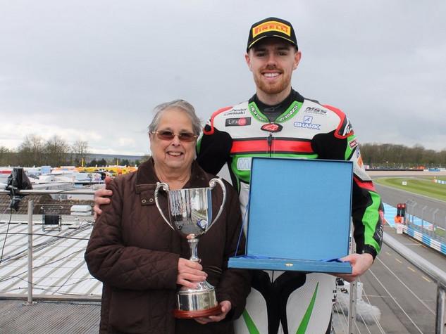 2017 Wheatcroft Trophy winner Danny Buchan