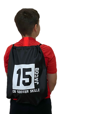 personalised bag for football