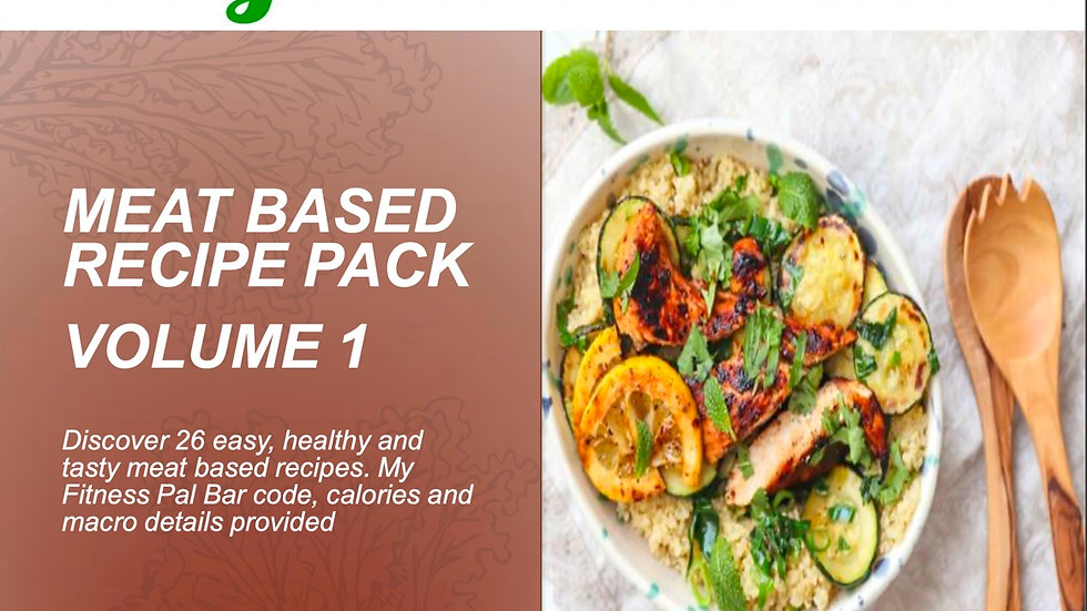 Meat Based Recipe eBook