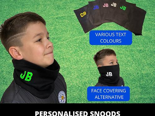 Personalised Snood Neck Warmer