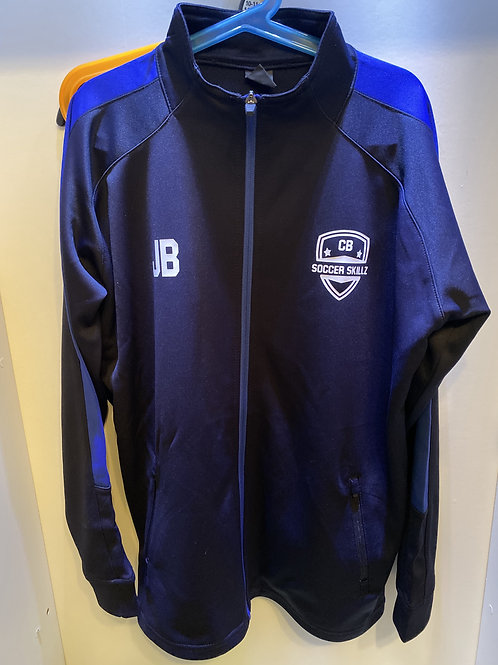 CB Soccer Skillz Tracksuit Top with badge and initials