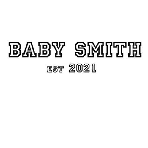 Personalised baby grow design 7