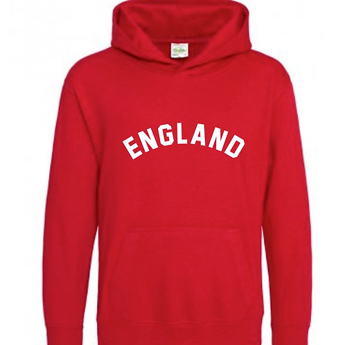 England Hooded Top - Personalised