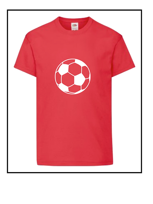 Football t-shirt  - personalised - Name and number on back