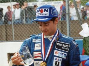 1993 Kelvin Burt with the Raymond Mays Salver