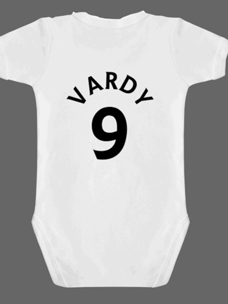 Personalised rear of baby grow design 11
