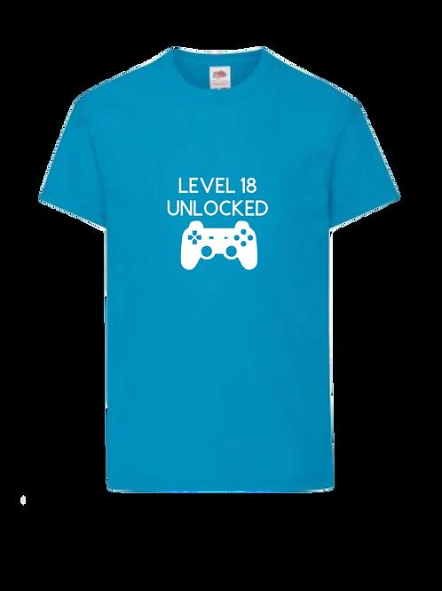 Gamer birthday t-shirt  - personalised