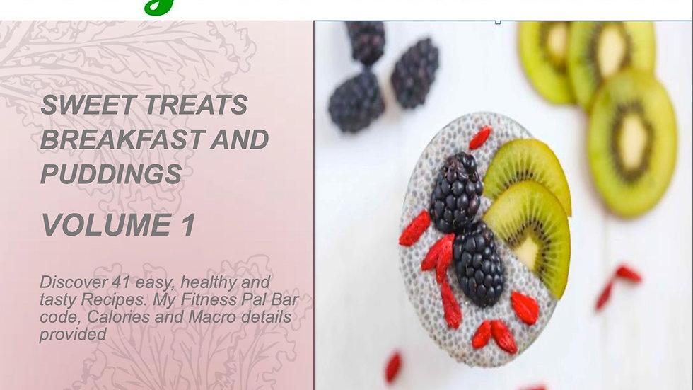 Sweet Treats Breakfast and Puddings Recipe eBook