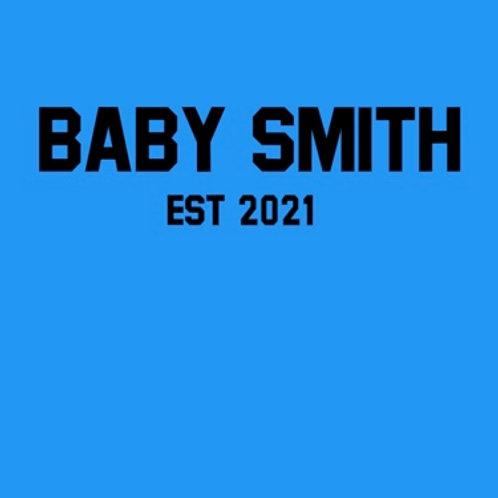 Personalised baby grow design 5