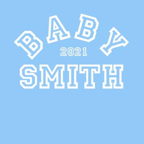 Personalised baby grow design 8