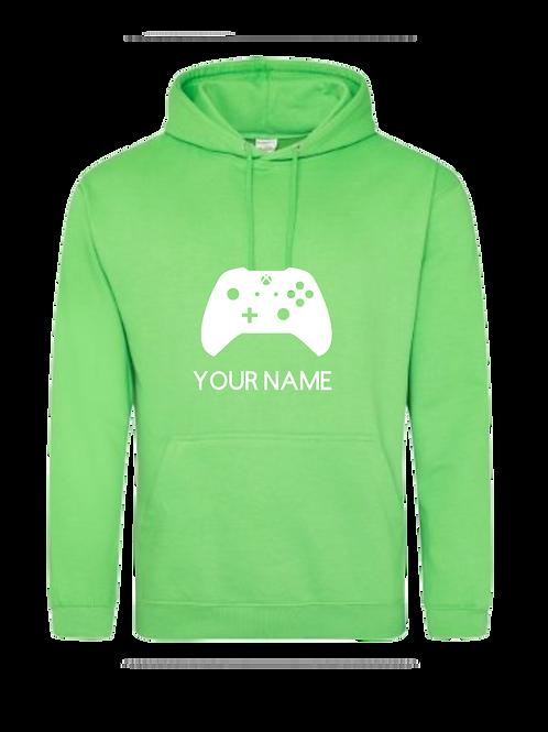 Personalised gamer hoodie 2
