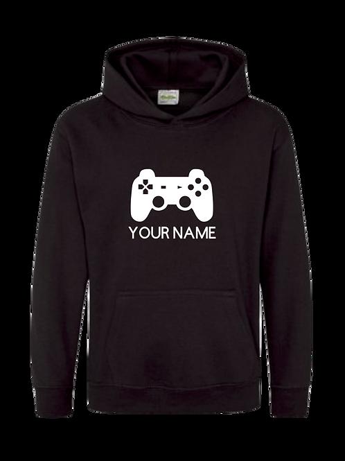 Personalised gamer hoodie