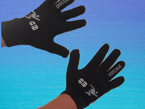 Outline Font Personalised Precision Player Gloves