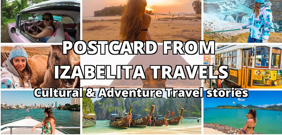 POSTCARD FROM IZABELITA TRAVELS Cultural