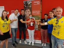 Eine Aktion des HC Leipzig & des Haema Blutspendedienstes Leipzig
