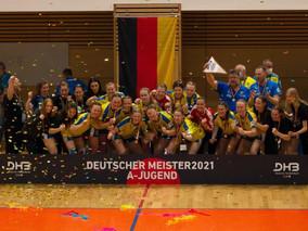 Wir sind Deutscher A- Jugend Meister!!!!
