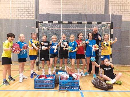 """""""Handball-Herz-Benin"""" – Spendenaktion von HCL, DHfK und Sportfabrik"""