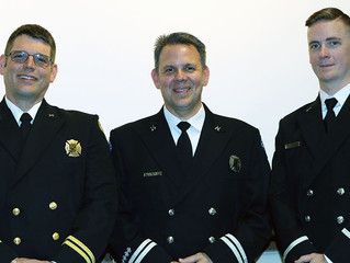 Three Poulsbo Firefighters achieve promotions