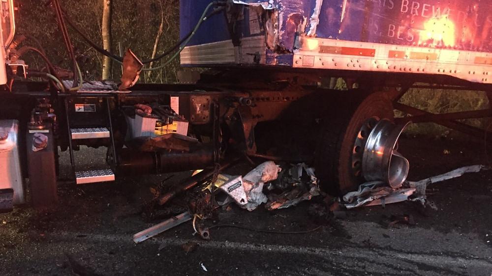 Fatality near Hwy 3 & Lofall exit