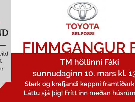 Fimmgangur - ráslisti