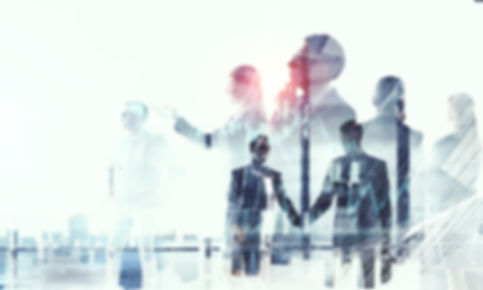 Business partnership and success concept