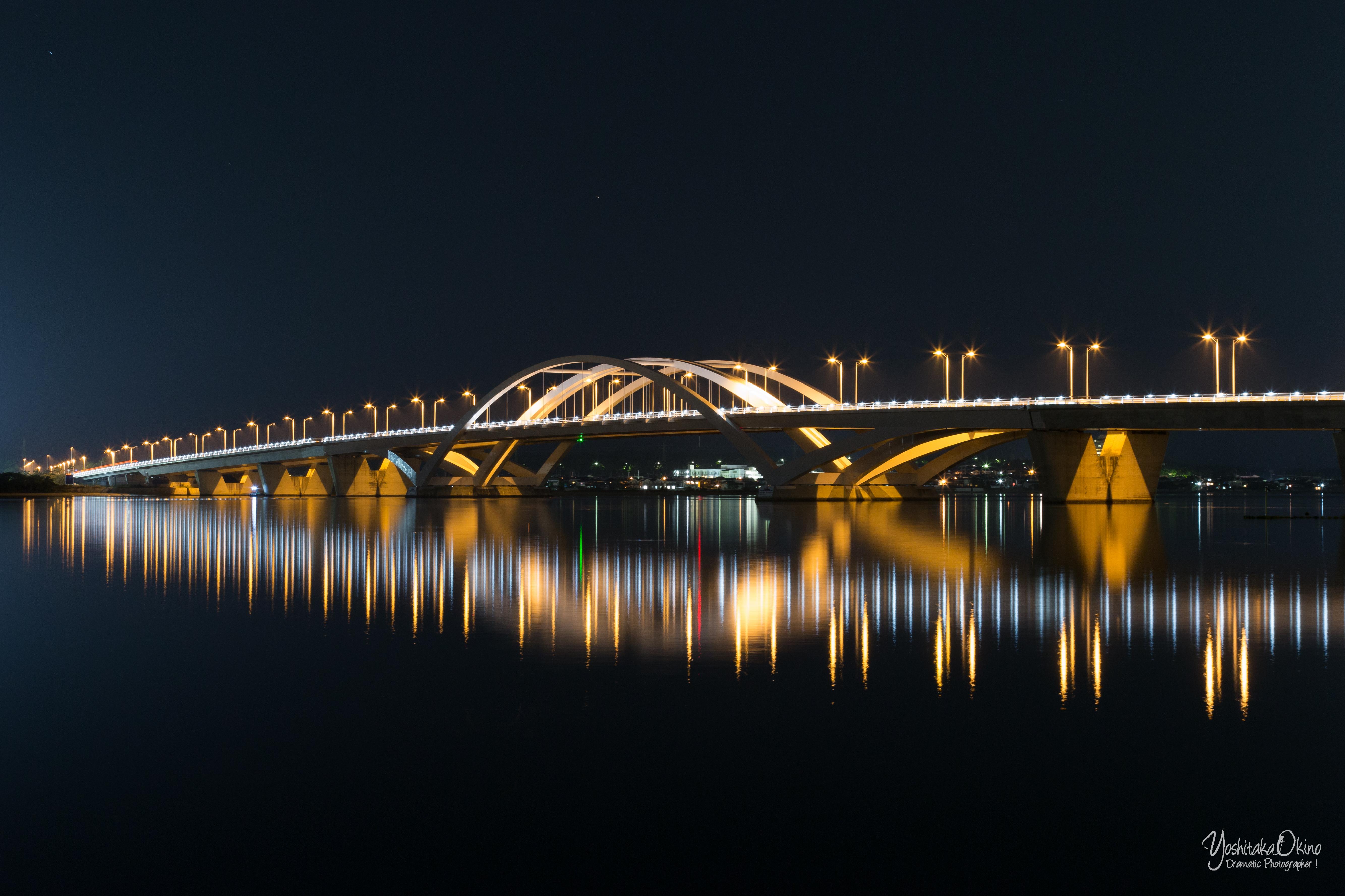 海ノ中道大橋(スローシャッター)