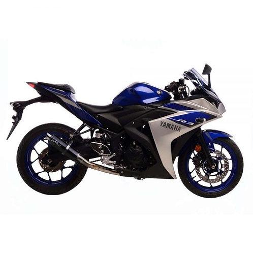 LeoVince Escape, GP Corsa, Yamaha YZF R3/MT03 (3380E) Carbono