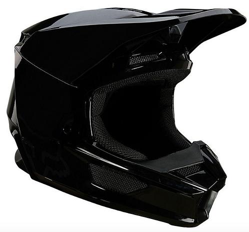 Casco Moto V1 Plaic Negro Fox