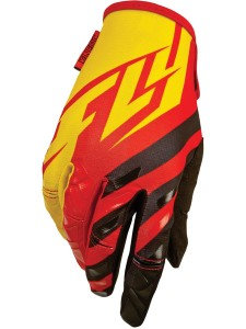 GUANTES FLY RACING KINETIC NIÑO ROJO/AMARILLO