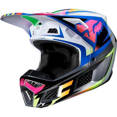 Casco Moto V3 Idol Multicolor Fox