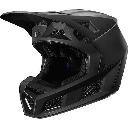 Casco Moto V3 Solids Negro Fox