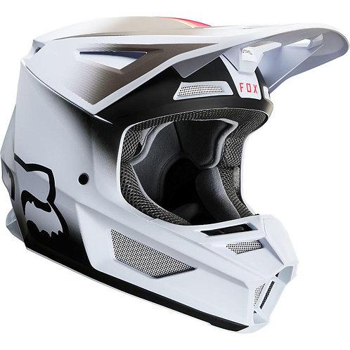 Casco Moto V2 Vlar Blanco 2020 Fox