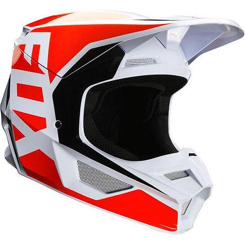 Casco Moto V1 Prix Flo Naranjo 2020 Fox