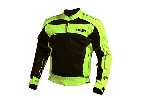 Chaqueta Textil Corta Yamaha Fluor
