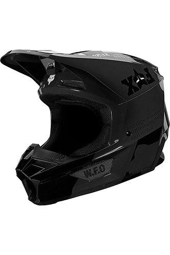 Casco Moto V1 Illmatik Gris/Negro Fox